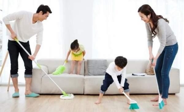 Tips membersihkan rumah agar terlihat baru