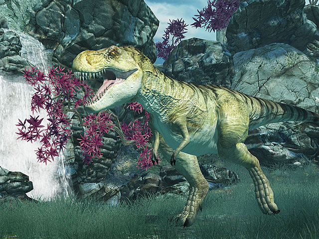 Screenshot Tyrannosaurus Rex 3D Screensaver 1.1 Build 11 Full Version