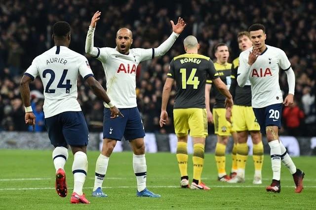 Spurs 3-2 Southampton: Lucas & Son rescue Mourinho's men in FA Cup thriller