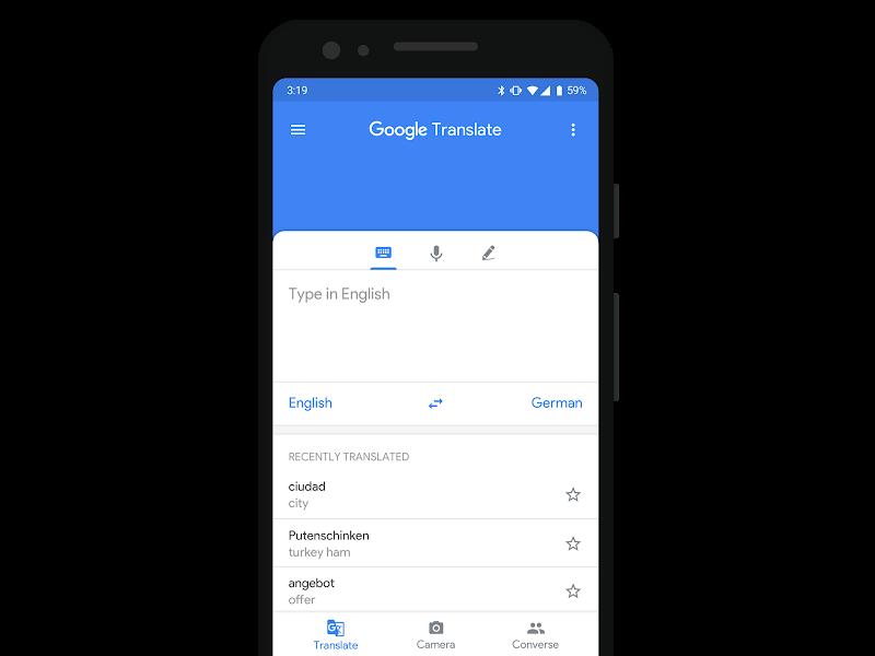 Rethinking Google Translate