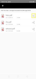 Cara Memberikan Password saat Kirim Foto WhatsApp