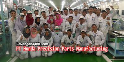 Lowongan Operator Produksi PT Honda Precision Parts Karawang