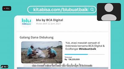 Galang dana blu by BCA Digital