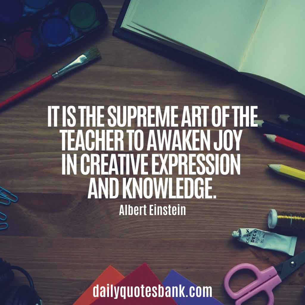 Educational Inspirational Quotes For Teachers Appreciation