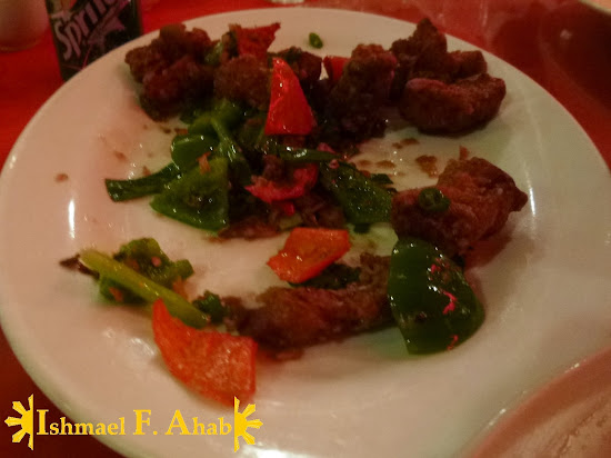 Beef dish in A Taste of Mandarin in Cebu City