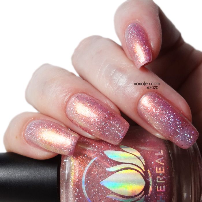xoxoJen's swatch of Ethereal Frozé