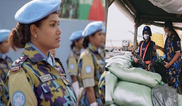 কঙ্গোর এয়ারপোর্ট সুরক্ষার দায়িত্বে বাংলাদেশ পুলিশের নারী শান্তিরক্ষীরা