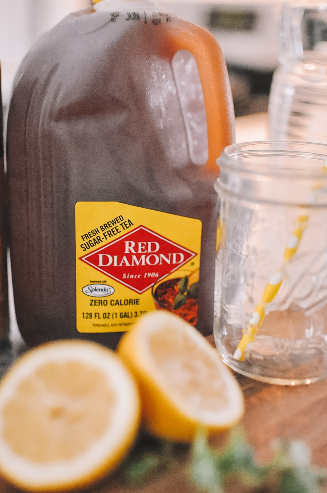Red Diamond Sweet Tea makes a great summer cocktail!