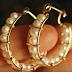 Wire Wrapped Pearl Hoop Earrings Tutorial