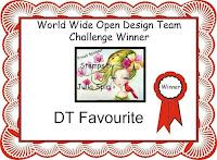 Winner DT Favorite at World Wide Open DT Challenge