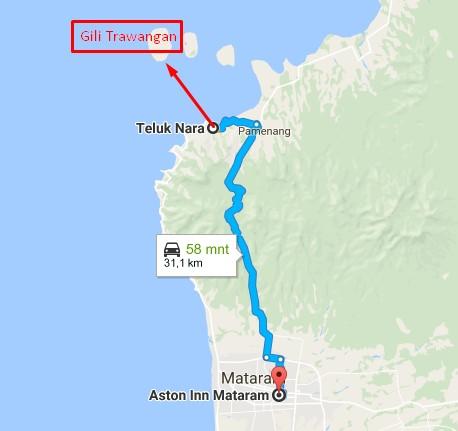 Aston Inn Mataram ke Gili Trawangan