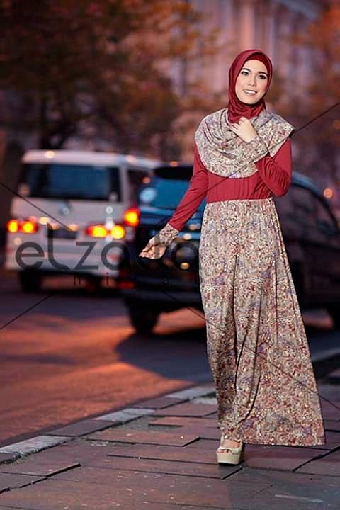 Trend Model Gamis Terbaru 2015 Dari Elzatta