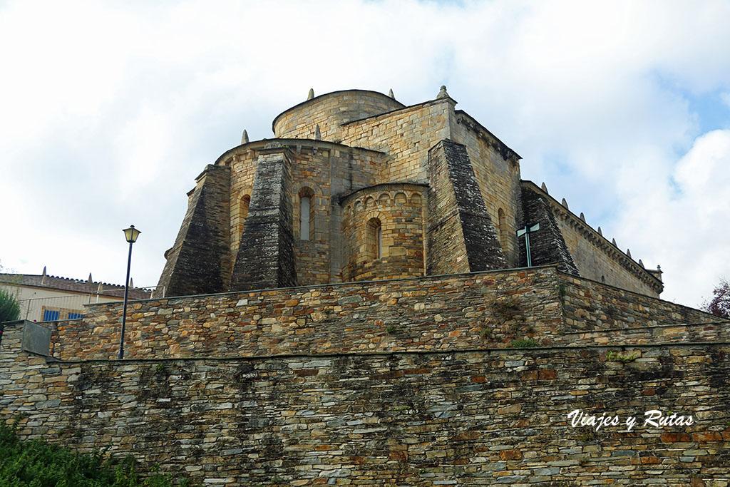Vista general de San Martiño de Mondoñedo, Lugo
