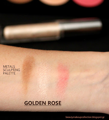 golden rose swatches