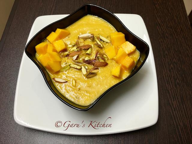 mango rabri recipe or aam ki rabri or mango rabdi recipe