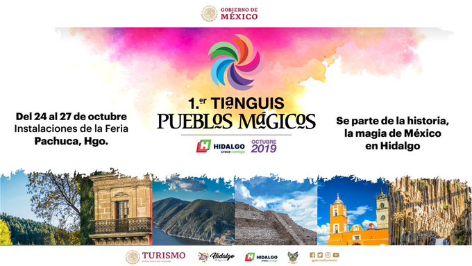 Pachuca Hidalgo, Primer Tianguis de Pueblos Mágicos