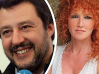 Fiorella Mannoia attacca Salvini, lui replica: «Pensa al cielo d'Irlanda e canta che ti passa»