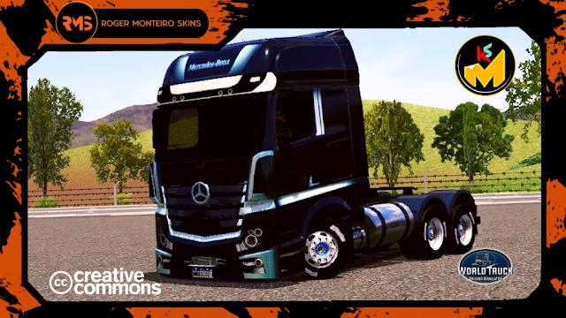 Actros Skins World Truck Driving Simulator