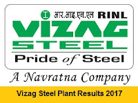 Vizag Steel Plant Results 2017