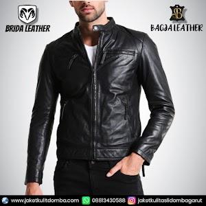 Jual Jaket Kulit Asli Garut Pria Domba Original Brida Leather B103 | WA 08813430588