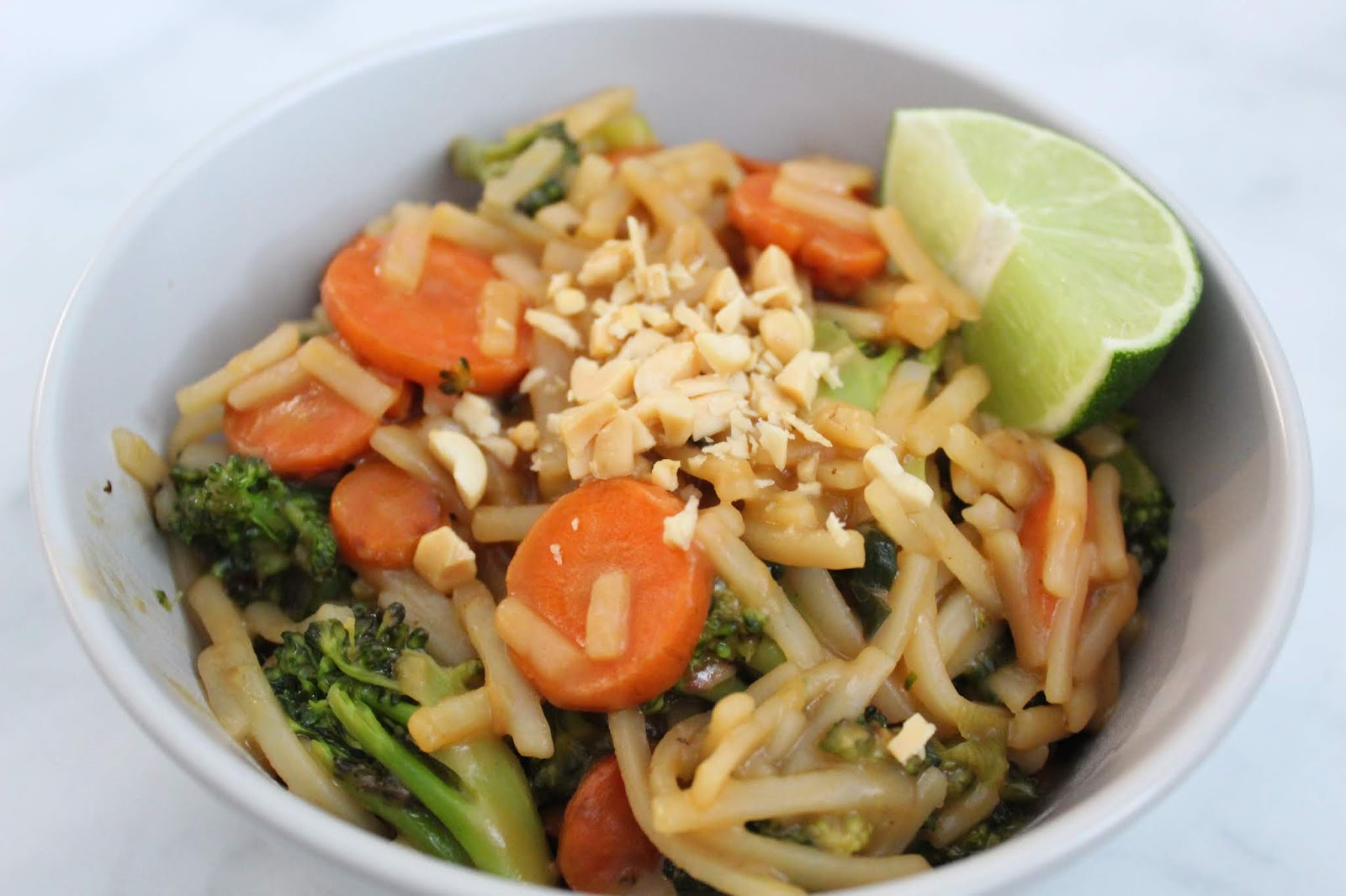 Homemade Vegan Pad Thai Recipe