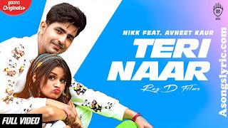 Teri Naar - Nikk Song Lyrics Mp3 Audio & Video Download