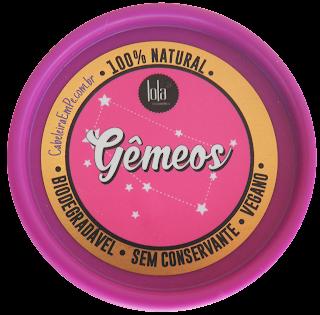 Ingredientes da Composição da Máscara Lola Signos - com Manteiga de Illipe