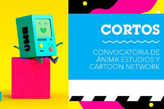 """Concurso de animación """"CORTOS"""" de Anima Studios y Cartoon Network"""