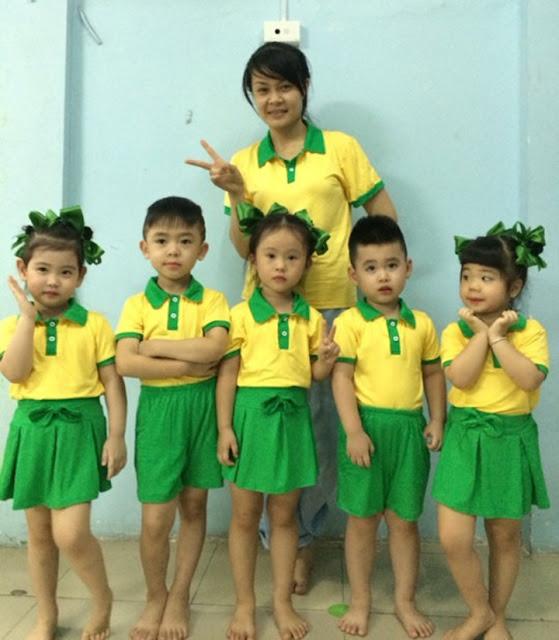 Mẫu đồng phục mầm non dành cho học sinh