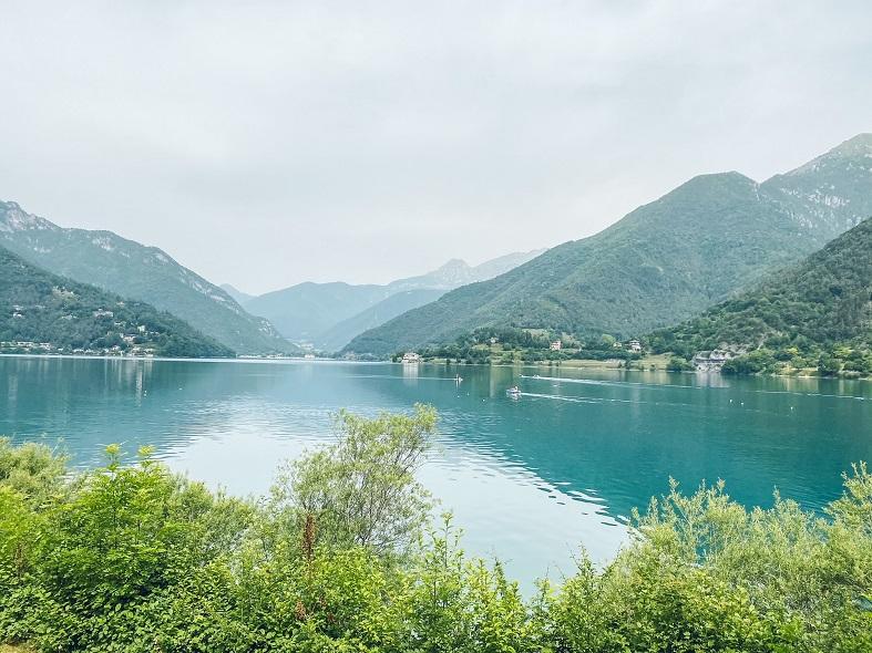 Panorama al lago di Ledro