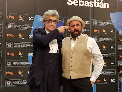 Wim Wenders and Celyn Jones (Thumbs) - Rueda de prensa