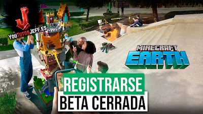 registrarse beta minecraft earth