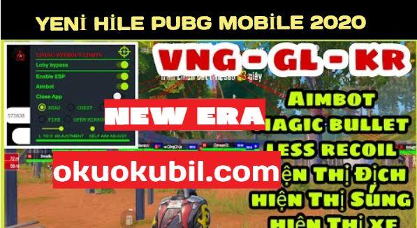 Pubg Mobile Era 2.0 LIVING WITHOUT Menu ESP Hilesi Apk Şifresiz Son Sürüm 2020