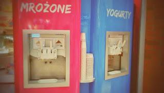 Dozowniki do mrożonego jogurtu