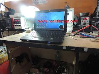 Serfis Laptop HP Mini 110 Power Down
