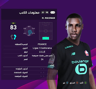 PES 2020 Faces Mike Maignan by Ahmed Hussien
