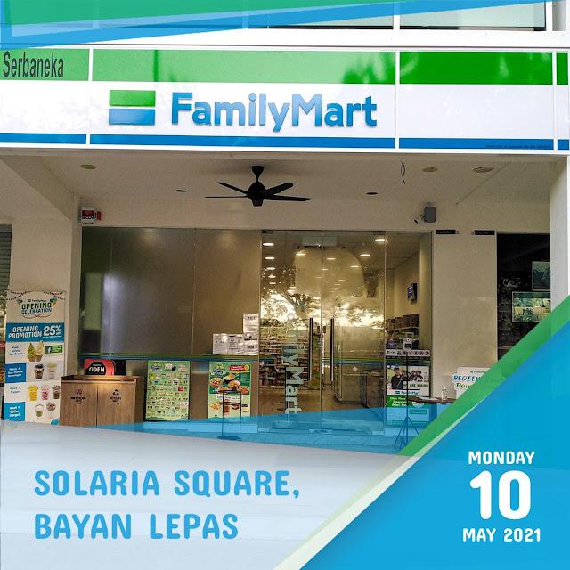 FamilyMart Penang Solaria Square Bayan Lepas