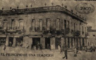 Farmacia de la Catedral, em 1905, em Asuncion, Paraguai