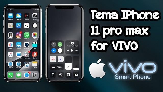 tema iphone 11 untuk vivo