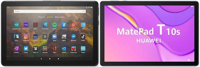 Amazon Fire HD 10 (2021) vs Huawei MatePad T 10s