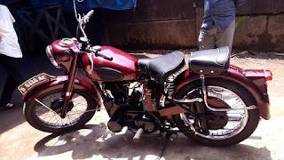 BUKA LAPAK MOTOR TUA : Forsale 1954 BSA Salur 350 - BANDUNG