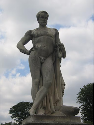 Statua di Cincinnato di Denis Foyatier, nel giardino delle Tuileries, Parigi.