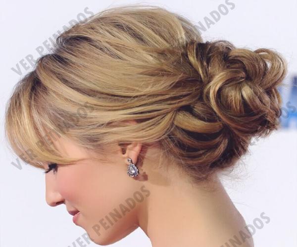 22 Peinados De Noche Ideales Para Fiestas Fotos Peinados Para Ninas