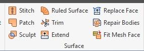 3D Model/Surface