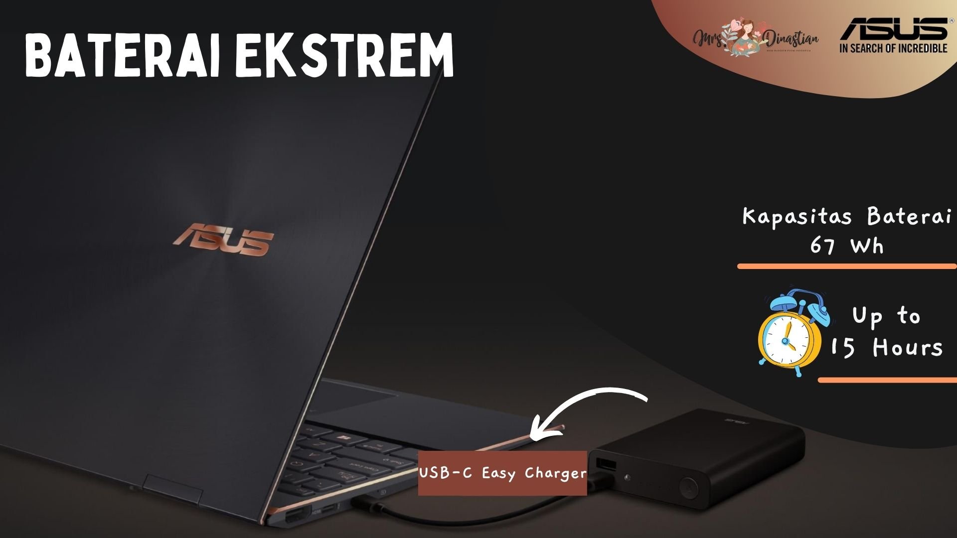 Baterai ASUS Zenbook Flip S UX371
