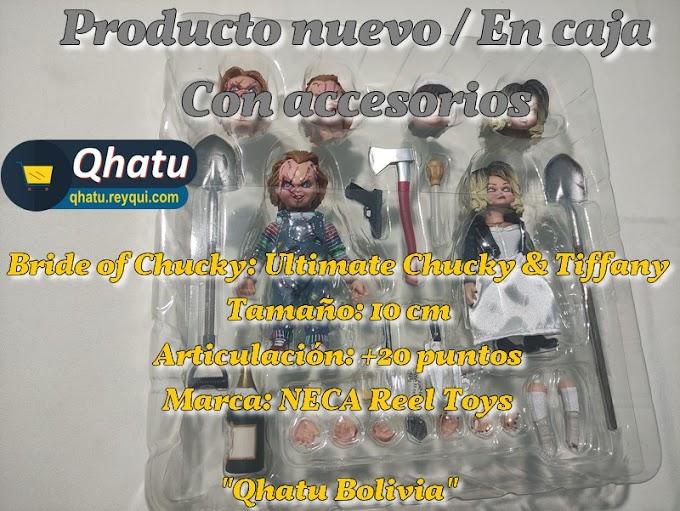Figuras de Bride of Chucky: Ultimate Chucky & Tiffany (NECA)