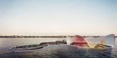 Πλατεία… βυθισμένη στο νερό- Οι άνθρωποι μπορούν να περπατήσουν πάνω στη θάλασσα