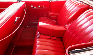 1941 Buick Super 51C Convertible Seat Rear