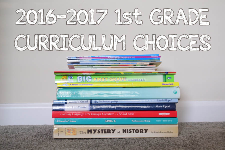homeschool curriculum choices 1st grade learning reading school