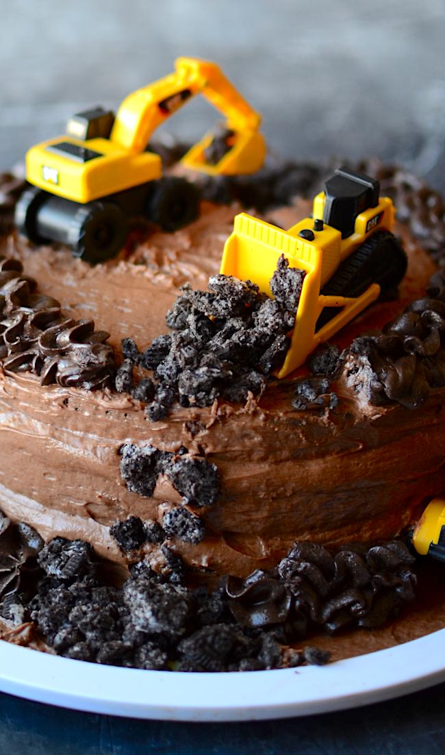 Amazing Yammies Noshery Construction Truck Birthday Cake Birthday Cards Printable Opercafe Filternl
